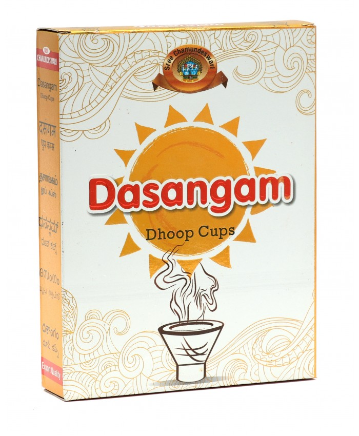 Dasangam Dhoop Cups
