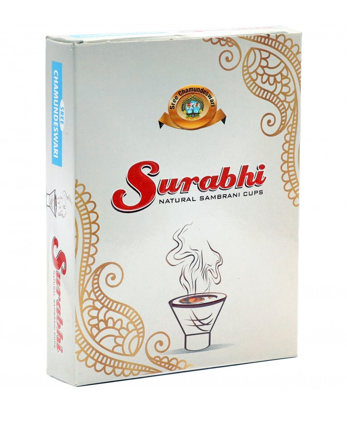 Surabhi Natural Sambrani Cups